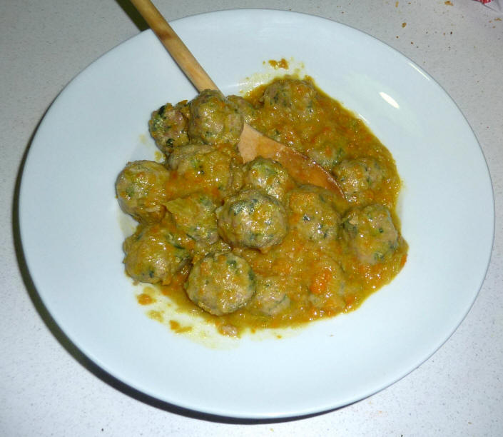 Polpettata - polpette di vitello al curry