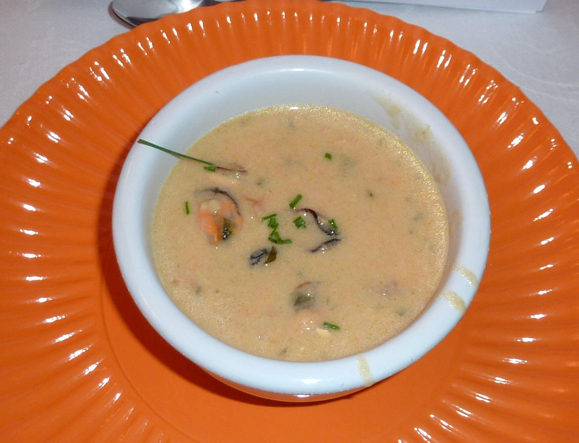 Cena Irlandese - seafood chowder